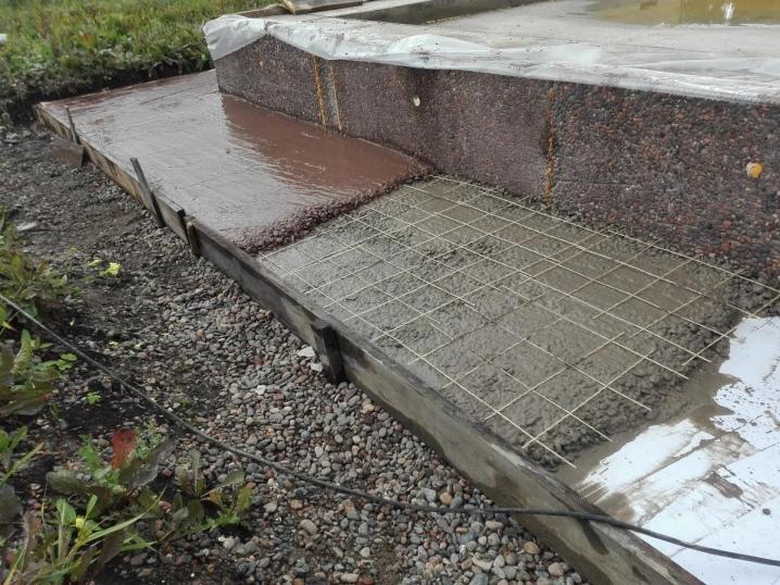 Залить щебенку цементным раствором бетон сочинение
