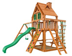 Выбираем детский игровой комплекс с горкой для дачи